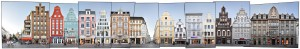 fine art print Rostock city centre