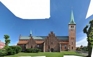 linear Domkirke in Helsingor