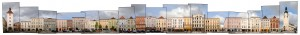 Austria Wels Stadtplatz City Square Ledererturm