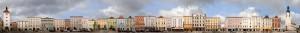 Wels Stadtplatz Ledererturm Oberösterreich