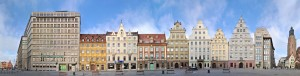 Wroclaw Rynek Photography Panorama Image Pic