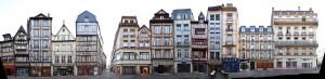 Image Rouen street view block