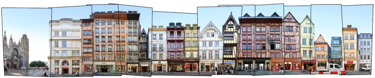 Rouen France street view framework version