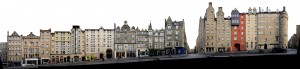 Edinburgh Royal Mile Panorama