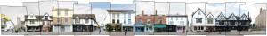 Canterbury Cityscape UK Panorama Image