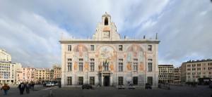Palazzo San Giorgio Genoa Italy Sights