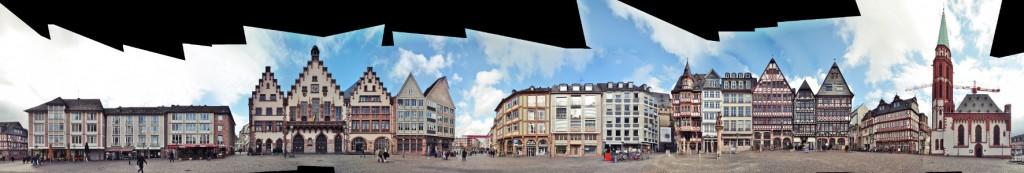 Römer Frankfurt Markt Römerberg
