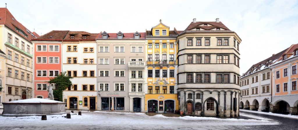 Untermarkt Görlitz Panorama Foto