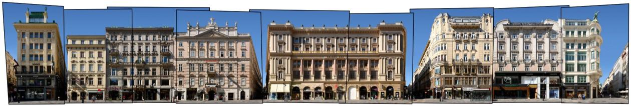 Österreich Wien Graben Straßenansicht Architektur