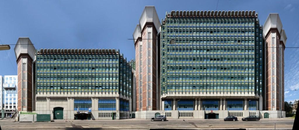Wien Hintere Zollamtsstrasse Architektur modern