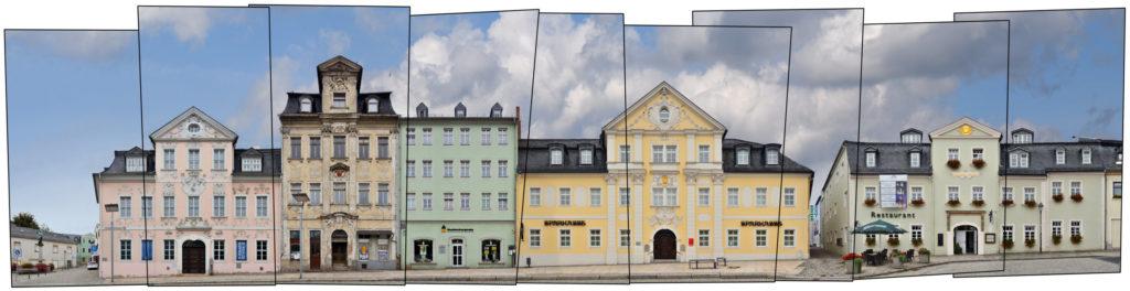 Schneeberg Barockgebäude Fürstenplatz