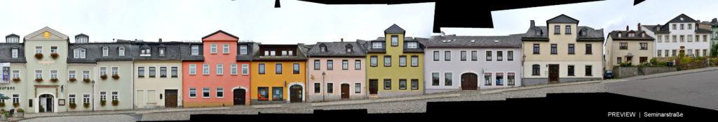 Seminarstrasse Schneeberg Sachsen
